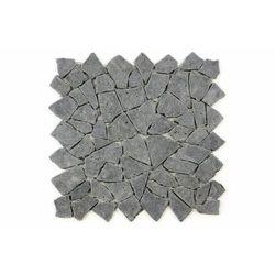 Mozaika kamienna z andezytu Garth na siatce ciemno szara 33 x 33 cm