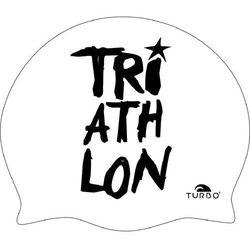 Turbo Triathlon Czepek pływacki, white/black 2019 Czepki pływackie Przy złożeniu zamówienia do godziny 16 ( od Pon. do Pt., wszystkie metody płatności z wyjątkiem przelewu bankowego), wysyłka odbędzie się tego samego dnia.