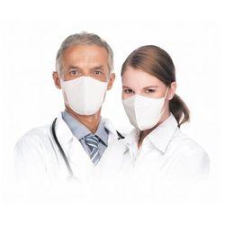 Respimask RespiPro White półmaska przeciwwirusowa norma FFP2, maseczka filtrująca Respilon® z certyfikatem RFU do użytku profesjonalnego