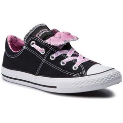 Trampki CONVERSE - Ctas Maddie Slip 664636C Black/Prism Pink/White