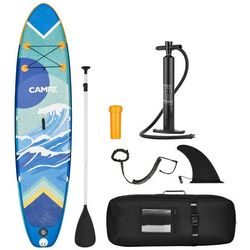 CAMPZ Inflatable SUP with Paddles and Pump, kolorowy 2021 Deski SUP