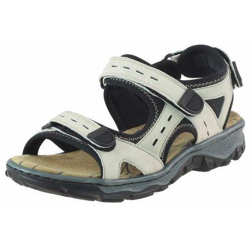 Sandały damskie, Sandały Rieker 68872 - Beżowe