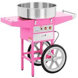 Maszyna do waty cukrowej - 52 cm - wózek