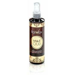 ItalWax duży aromatyczny lotion po depilacji Oud 250ml relaksująca depilacja