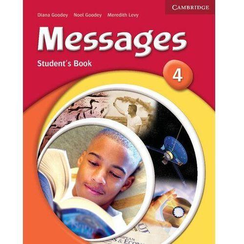 Książki do nauki języka, Messages 4 Student's Book (opr. miękka)