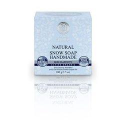 Natura Siberica - naturalne mydło śnieżne - poprawa elastyczności skóry - oliwa z oliwek, olej kokosowy, wosk pszczeli, oleje z kiełków pszenicy, nasion czarnej porzeczki, ogórecznika, nasion maliny (bez parabenów, SLS, SLES, PEG)