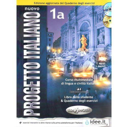 Książki do nauki języka, Progetto Italiano Nuovo 1A podręcznik - T. Marin, S. Magnelli (opr. broszurowa)