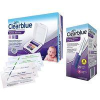 Testy płodności, CLEARBLUE monitor płodności + testy 20+4 +4p