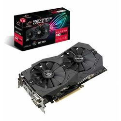 Karta VGA Asus ROG Strix Radeon RX570 OC 8GB GDDR5 256bit DVI+HDMI+DP PCIe3.0