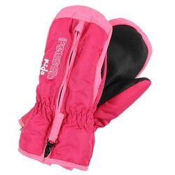 Reusch BEN MITTEN Rękawiczki z jednym palcem fuchsia purple/knock pink
