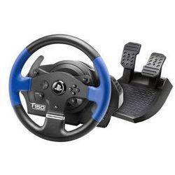 Kierownica Thrustmaster T150 dla PS4, PS3 a PC + pedały (4160628) Czarny