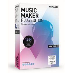 MAGIX Music Maker Plus 2019 - BOX - Certyfikaty Rzetelna Firma i Adobe Gold Reseller