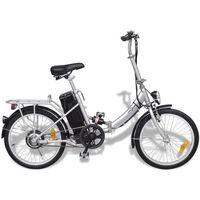 Rowery elektryczne, Rower elektryczny składany z akumulatorem litowo-jonowym z aluminium