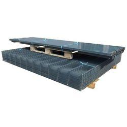 vidaXL Panele ogrodzeniowe 2D z słupkami - 2008x2030 mm 50 m Szare Darmowa wysyłka i zwroty