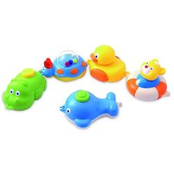 Canpol Zabawki do kąpieli 5 elementów