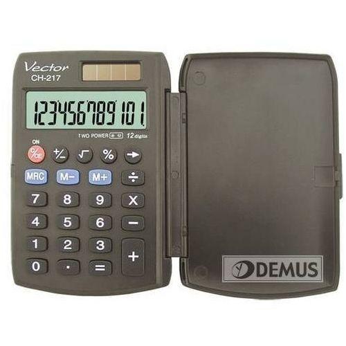 Kalkulatory, Kalkulator VECTOR CH-217