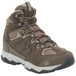 Damskie buty trekkingowe MTN ATTACK 6 TEXAPORE MID W coconut brown / grey - 8,5