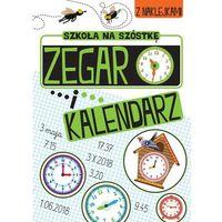 Książki dla dzieci, Zabawy matematyczne.Zegar i kalendarz (opr. miękka)