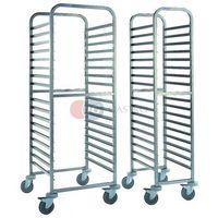 Wózki na żywność, Wózek transportowy 16-półkowy regałowy do pojemników GN i tac CGA-64