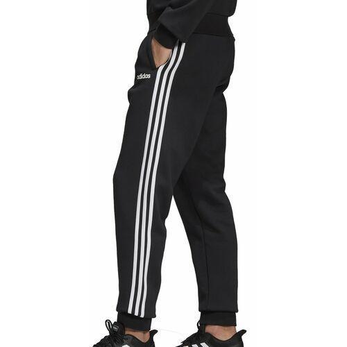 Krótkie spodenki, Spodnie męskie adidas Essentials 3 S Tapered Pant FL czarne DQ3095