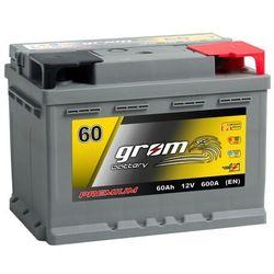 Akumulator GROM Premium 60Ah 600A EN DTR