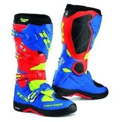 BUTY OFF-ROAD TCX COMP EVO 2 MICHELIN RED/BLUE/YEL