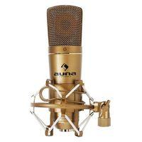 Mikrofony, Auna CM600 studyjny mikrofon pojemnościowy USB brązowy
