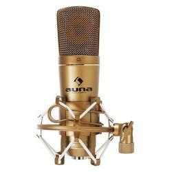 Auna CM600 studyjny mikrofon pojemnościowy USB brązowy