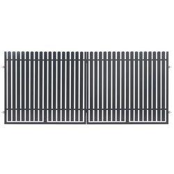 Brama dwuskrzydłowa Polbram Steel Group Daria 2 350 x 150 cm