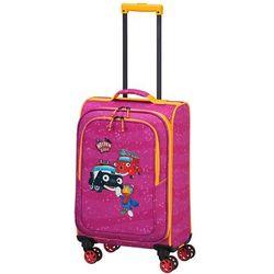 Travelite Bohaterowie Miasta walizka mała kabinowa dla dzieci 20/54 cm / różowa - Pink