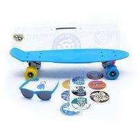 Pozostały skating, cruiser STEREO - Vinyl Plastic Cruiser Cyan/Wht/Cmyk (CYAN WHT CMYK)