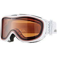 Kaski i gogle, Alpina Gogle narciarskie white