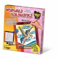 Kolorowanki, Zestaw kreatywny wypukła malowanka Jednorożec Merkury - DARMOWA DOSTAWA OD 199 ZŁ!!!