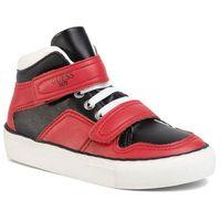 Półbuty i trzewiki dziecięce, Sneakersy GUESS - Luiss Hi Jr FI5LSH ELE12 RED