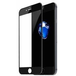Baseus szkło hartowane na cały ekran Full Screen z ramką 0.23mm 9H iPhone 8 Plus / iPhone 7 Plus czarny (SGAPIPH8P-GPE01) - Czarny