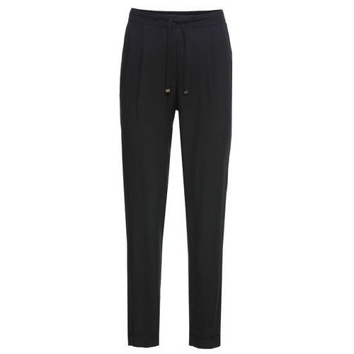 Spodnie damskie, Spodnie Loose Fit bonprix czarny