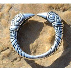 Pierścień wikingów z krukami srebro Ag 925 SBR266