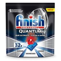 Kostki do zmywarek, Tabletki do zmywarki FINISH Quantum Ultimate 32szt., regular