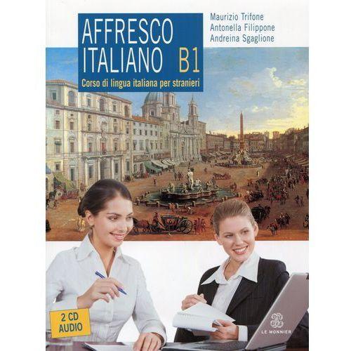 Książki do nauki języka, Affresco Italiano B1 /CD gratis/ (opr. miękka)