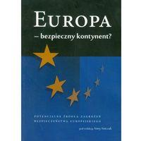 Literaturoznawstwo, Europa - bezpieczny kontynent (opr. miękka)