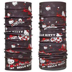 Komin Polar Buff Junior Hello Kitty GRID + Chusta Junior Buff Hello Kitty GRID - GRID \ Czarny -50% (-50%)