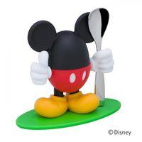 Sztućce dla dzieci, WMF- Podstawka na jajko+ łyżeczka,Myszka Miki
