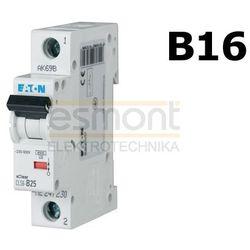 Wyłącznik nadprądowy B16 16A 6kA 1-fazowy CLS6-B16 270340 EATON-MOELLER