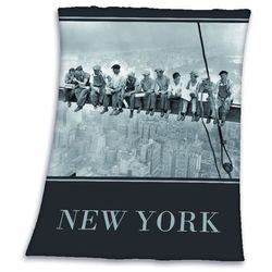 NEW YORK MIASTO CITY KOC KOCYK PLED 130X170
