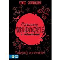 Literatura młodzieżowa, Czerwony brudnopis z różnościami. Darmowy odbiór w niemal 100 księgarniach! (opr. broszurowa)
