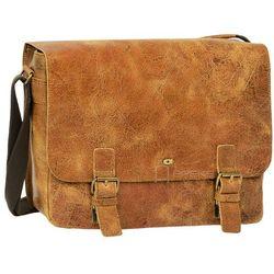 Daag Jazzy Wanted 10 torba skórzana na ramię / brązowa - brązowy