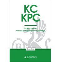 Biblioteka biznesu, Kc kpc kodeks cywilny. kodeks postępowania cywilnego. edycja sędziowska - opracowanie zbiorowe