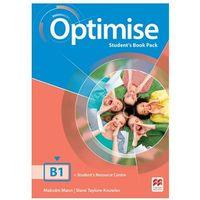 Książki do nauki języka, Optimise B1 SB MACMILLAN - Malcolm Mann, Steve Taylore-Knowles (opr. broszurowa)