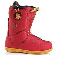 Buty do snowboardu, buty snowboardowe DEELUXE - Choice TF burgundy (2081) rozmiar: 44