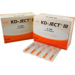 Strzykawka jedn. użytku 1ml insulinowa U100 (z igłą zintegrowaną 0,30x12,7mm) - 100szt.